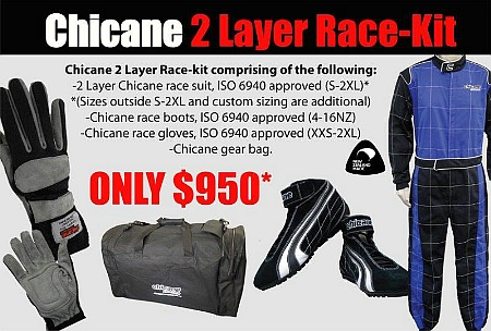 Chicane 2-Layer Racekit - Click for larger image